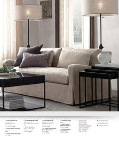 2013 Small Spaces Catalog | Restoration Hardware - love these ...