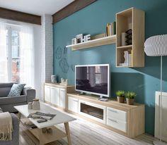 Preciosa composición para comedor que destaca por sus colores. Los colores del mobiliario aportarán energía y vitalidad a tu estancia. Conoce todos los modelos en: http://www.mueblesfun.es/fun-comedores-ct3.html