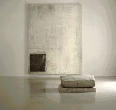 bare ....perhaps.............beautiful...yes!  living with art & space....  Lawrence Carroll