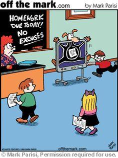Proving that his dog really did eat his homework... (Vet Tech Jokes)