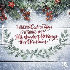 On this first day of December, we wish you abundant blessings this Christmas season!