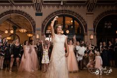 Photography By Sarah Crail - mywedding.com - Wedding - Dancing - reception