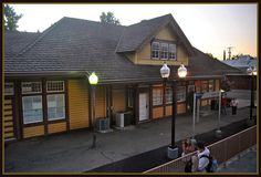 Train station Chico California  Want to live here? View rentals at livinginchico.com