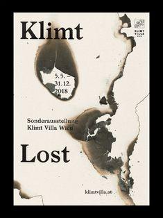 Klimt Lost – Exhibition Poster Klimt Villa Vienna