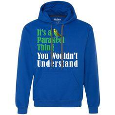 its a Parakeet thing Heavyweight Pullover Fleece Sweatshirt