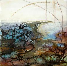 Encaustic art portfolio of Alicia Tormey Abstract Landscape, Abstract Art, Wax Art, Encaustic Painting, Painting Art, Mix Media, Art Portfolio, Art Plastique, Oeuvre D'art