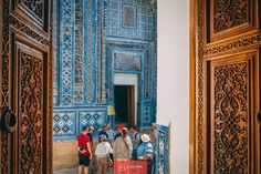 Uzbekistan Tours & Travel - discover the highlights of this Silk Road country and find information needed for your next Uzbekistan tour booked at Kalpak Catacombs, Silk Road, Travel Information, Central Asia, Tours, Painting, Rose, Floral, Pink