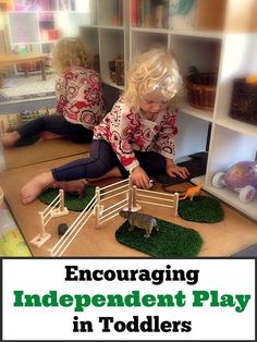 Encouraging independent play in toddlers is possible if you follow these seven simple steps.