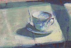 Bird Cup by Susan Ashworth - The Rowley Gallery - Fine Frames & Fine Art since 1898 - Kensington, London