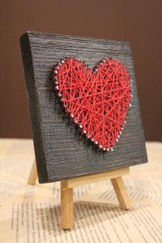 Купить Сердце на мольберте. Подарок на 14 февраля производства мастера limon decor на платформе Crafta. Заказать хенд мейд Сердце на мольберте. Подарок на 14 февраля в Украине из первых рук.