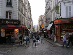 Need to escape Paris's museums and art galleries? Get lost in the cafes and shops of Montmartre