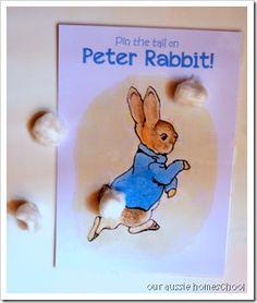 FIAR Rowing Peter Rabbit blog post - includes printables