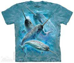 The Mountain - Narwhals T-Shirt, $20.00 (http://shop.themountain.me/narwhals-t-shirt/)