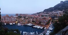 #Fontvieille Port view from the #RoyalPalace of #Monaco. #memories #uragano #montecarlo #rain #wet #relaxfromexams #march by oscar_savarino from #Montecarlo #Monaco