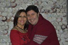 #anabelycarlos piden un deseo para el año nuevo 2015 en la capilla de las Conchas en La Toja!!! Los deseos del 2014 ya se cumplieron aquí blog.carlossanin.com