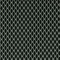 Strik jacquard grå melange med struktur