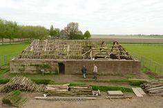 Maand van de Geschiedenis - Zodenhuis: reconstructie van een vroegmiddeleeuwse bouwtraditie