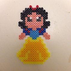 Disney Snow White hama perler beads by pagey163
