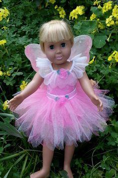 American Girl Doll Fairy Princess Dress von GlitterStarr auf Etsy