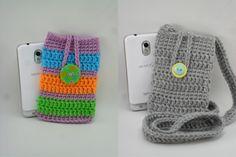 Digital Download PDF Crochet Pattern  Phone Cozy by LilacsLovables, $3.00