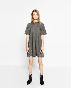 Image 1 of FULL CHECK DRESS from Zara