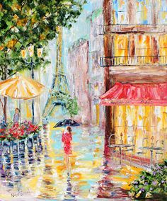 Karen Tarlton: Paris Rain. This is my favorite.