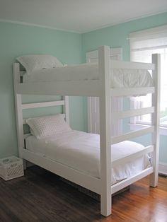 diy bunk bed   DIY Bunk Beds - Part 2 (Built)