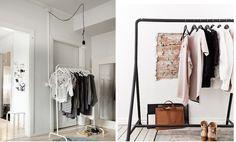 Vivendo sem armário  By: Click Interiores