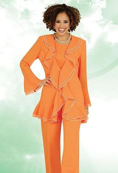 ee0681f137a Misty Lane by Ben Marc Womens 3pc Church Pant Suit 13454