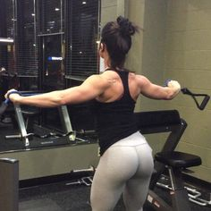 Rear Delts with resistance band