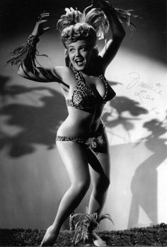 "Burlesque Artist Jennie Lee ""Jungle Jennie"""