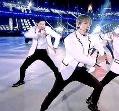 Byun Baekhyun Olympics closing ceremony EXO