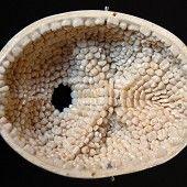 human geode    human teeth inside a skull cap