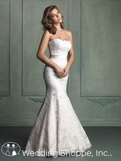 Bridal Gowns Allure  9117 Bridal Gown Image 1  At Trudy's