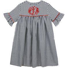 Our Rags Land Black Houndstooth Kelley Dress! Shop NOW at www.ragsland.com