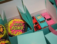 Nice boy party favors