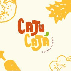 Confira este projeto do @Behance: Food Logo Design, Logo Food, Identity Design, Typography Logo, Logo Branding, Lettering, Typographie Inspiration, Inspiration Logo Design, Logo Restaurant
