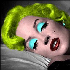 Lisa Marie as Warhol Marilyn by ~Kaze-Tamashii on deviantART
