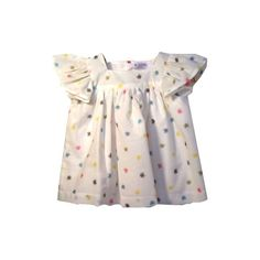 Top - Buttons on the Back - Le Tabier Lilas - Papillotte
