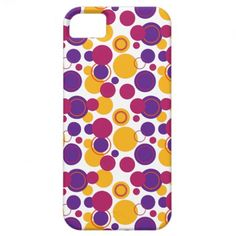 Retro Polka Dots Galore - 19 iPhone 5 Cases #iPhonecase #iPhone #polkadots #retro