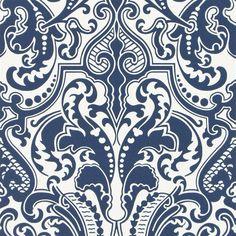 Gwynne Damask - Porcelain Cutting