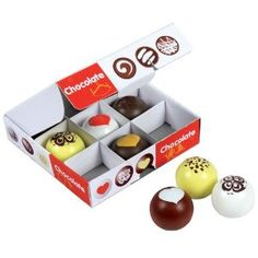 Gourmet Wooden Chocolates