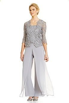 Pant Suits Straps Ankle-length 30D Chiffon Mother of the Bride Dress