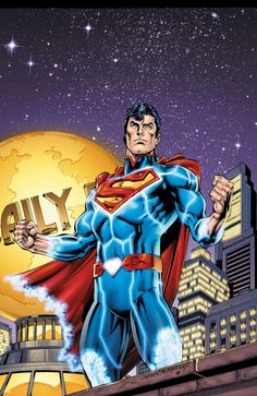 #Superman #Fan #Art. (Superman) By: Dan Jurgens.