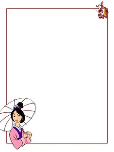 """Mulan - parasol - Project Life Journal Card - Scrapbooking ~~~~~~~~~ Size: 3x4"""" @ 300 dpi. This card is **Personal use only - NOT for sale/resale** Logo/clipart belongs to Disney. *** Click through to photobucket for more versions of this card (including a version for EPCOT's China pavilion) ***"""