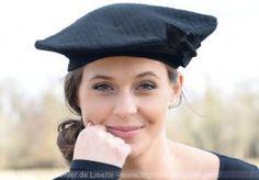 chapeau béret tissus