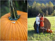 I love this bride's choice for her dress. She has two outfits that fit perfectly into the mountain back drop.   by Sullivan Photography  http://www.thebridelink.com/blog/2012/11/07/fall-engagement-shoot-with-sullivan-photography/