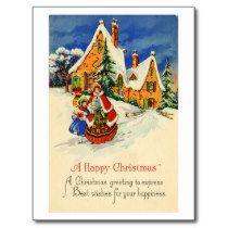 Christmas Postcard (ca. 1920)