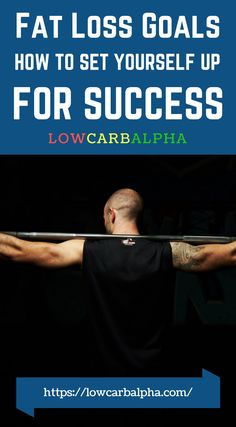 How to set goals for fat loss https://lowcarbalpha.com/setting-realistic-goals-fat-loss/ Having a solid program to follow is crucial for success. Guide on low carb nutrition and food preparation. If beginning a weight loss journey this is where to start! #keto #burnfat #goalsetting #lowcarbalpha