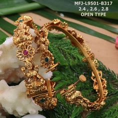 Temple jewellery available at AnkhJewels for booking msg on Gold Bangles Design, Gold Earrings Designs, Necklace Designs, Indian Jewellery Design, Handmade Jewellery, Indian Jewelry, Gold Jewelry Simple, Silver Jewelry, Silver Ring